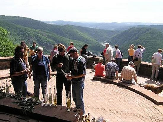 Besuch bei der OG Saar mit Besichtigung der Saarschleife.